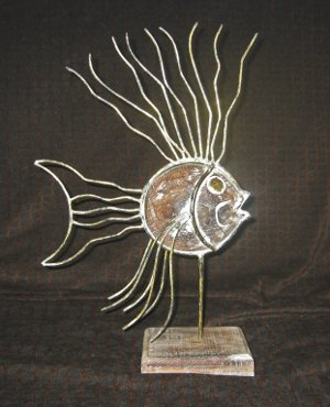 Metal Sculpture - Fish